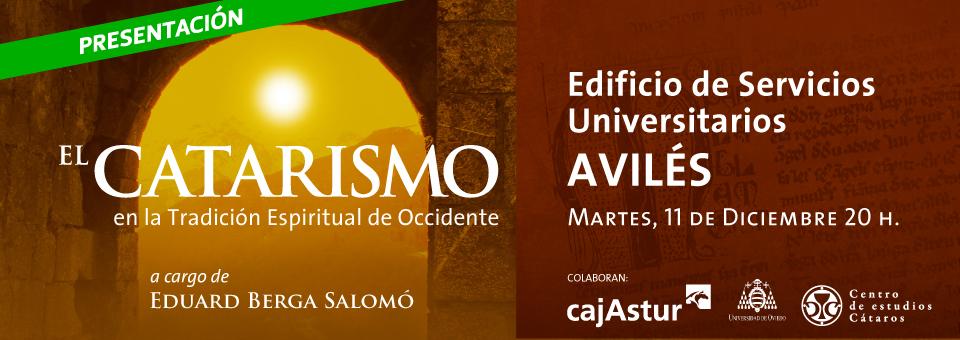 Presentación 'Catarismo' en Avilés