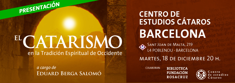 Presentación Cátaros Barcelona CEC