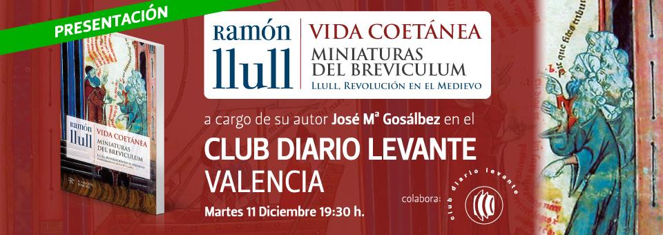 Presentación Libro 'Vida Coetánea' Ramón Llull