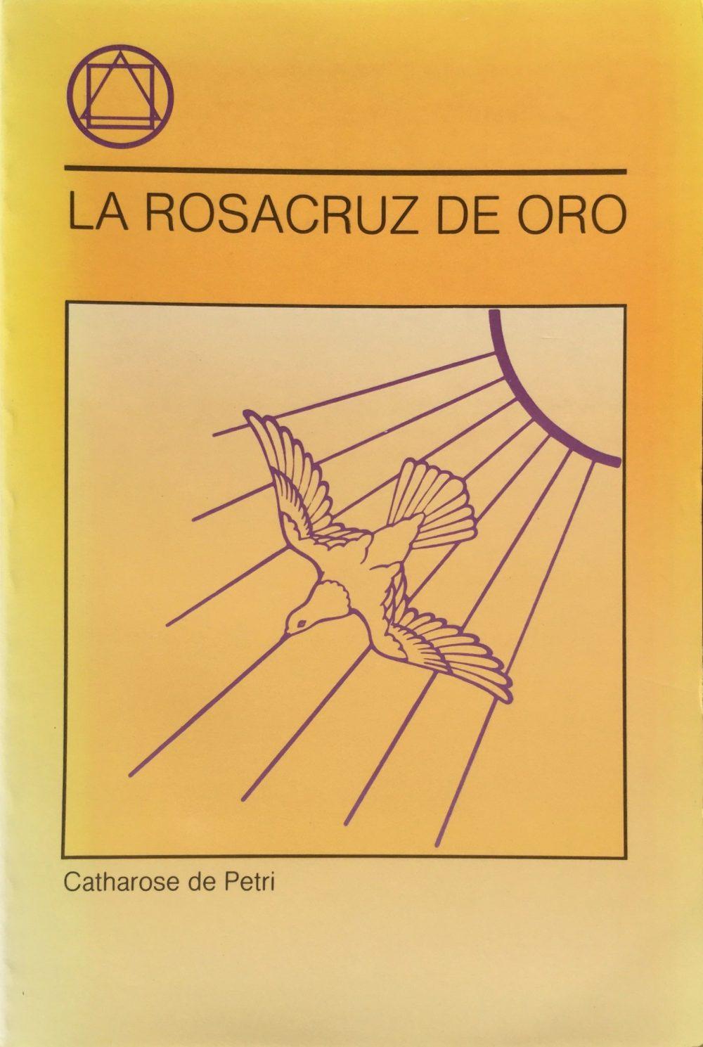 Portada Libro - La Rosacruz de Oro
